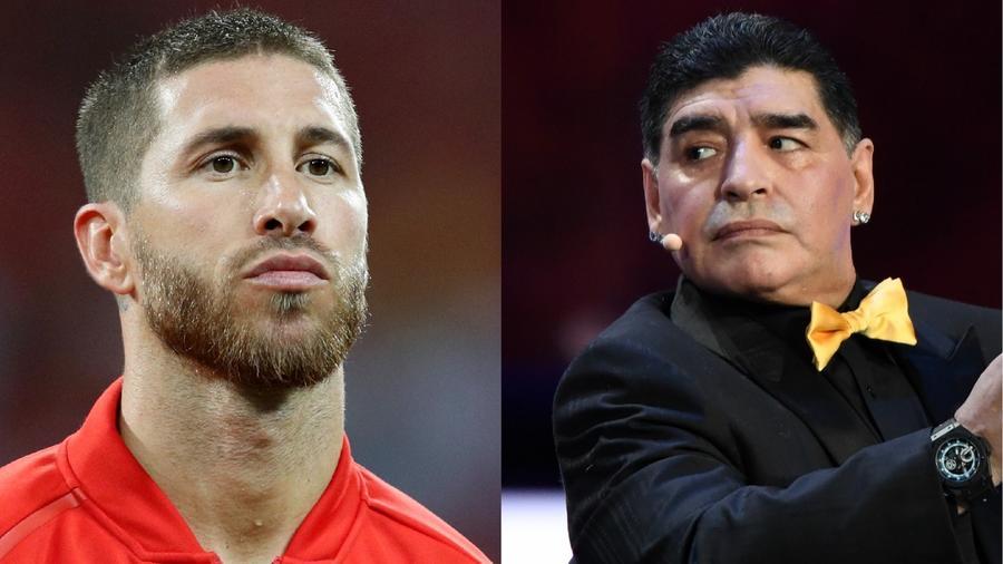 Ramos vs. Maradona
