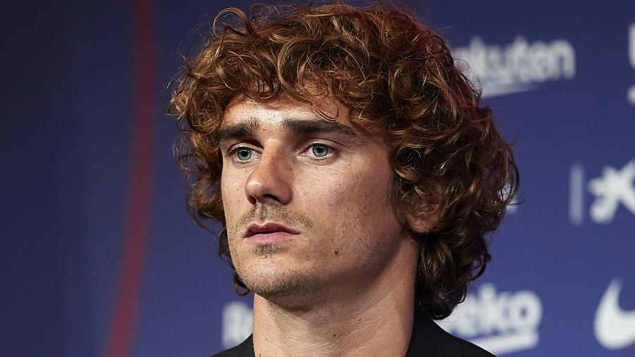 FC Barcelona Unveil New Player Antoine Griezmann