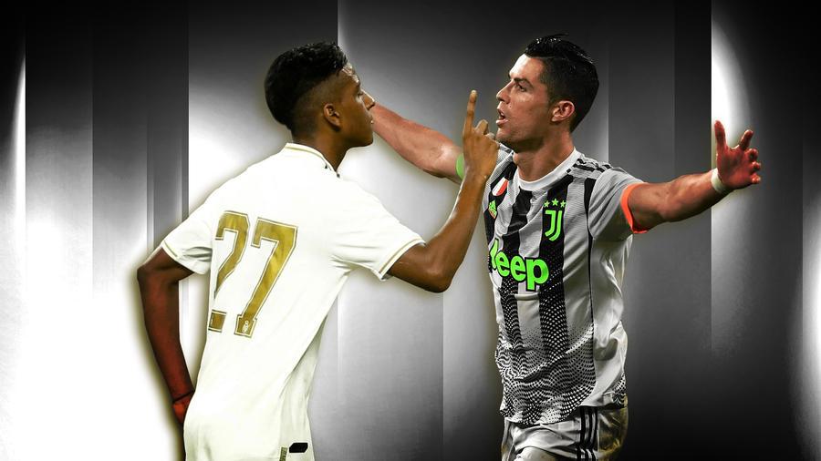 Rodrygo en Real Madrid y Ronaldo en Juventus