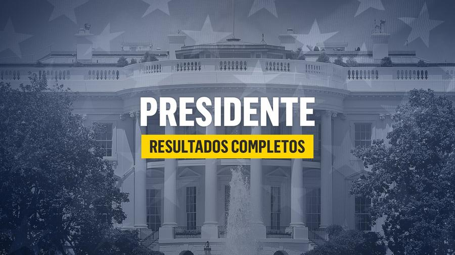 Resultados de las elecciones presidenciales 2020