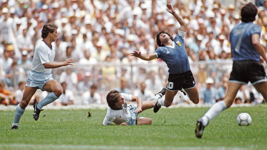 Diego Armando Maradona en el Mundial de México 1986