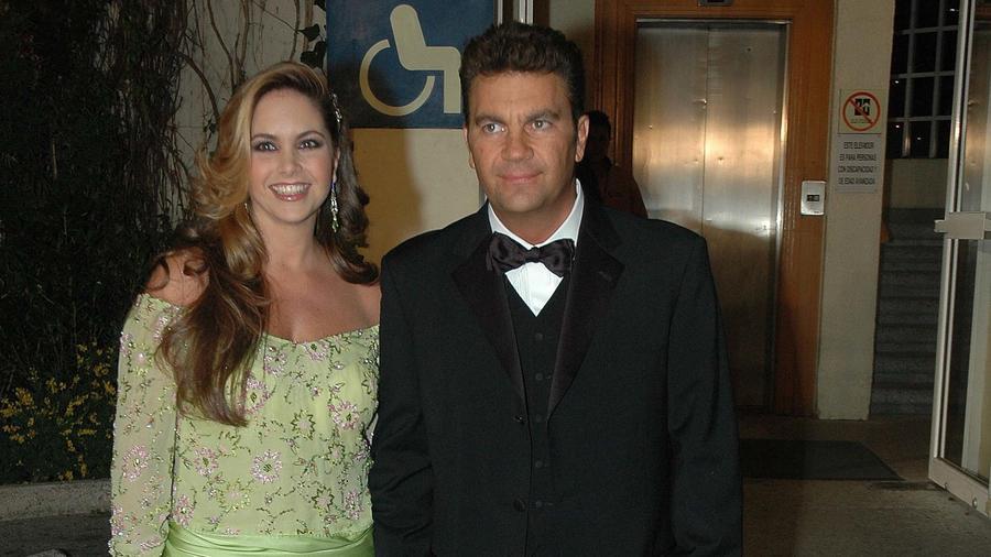 Lucero embarazada en 2005