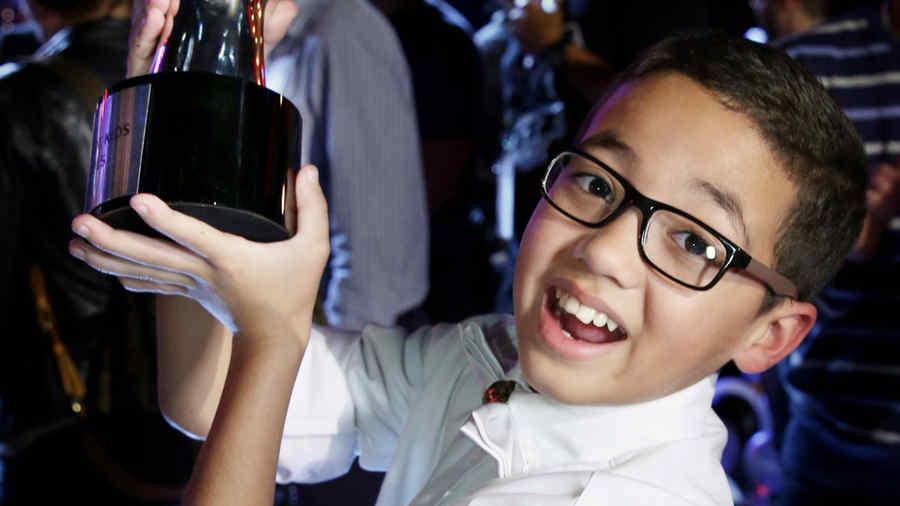 Jonael Santiago es el ganador de la tercera temporada de la voz kids
