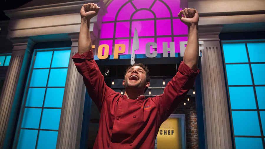 Gabriel Coronel en Top Chef Estrellas