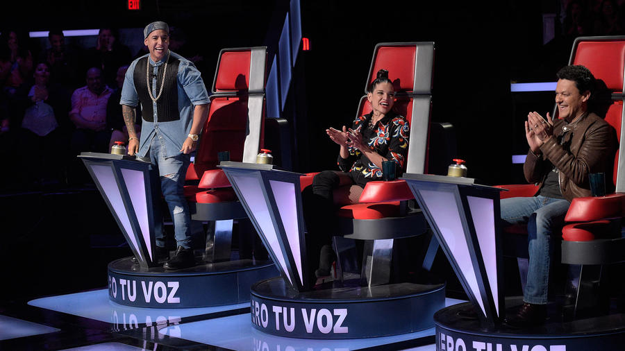 Coaches en la quinta noche de audiciones a ciegas en La Voz Kids
