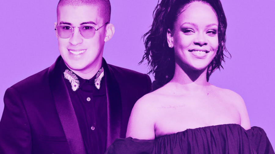 Bad Bunny y Rihanna