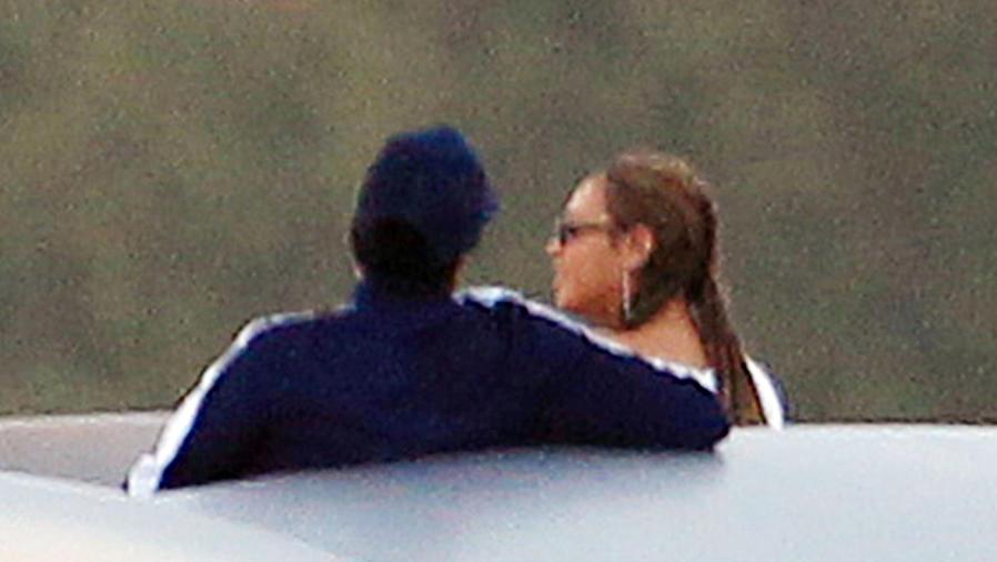 Beyoncé y Jay-Z en un yate