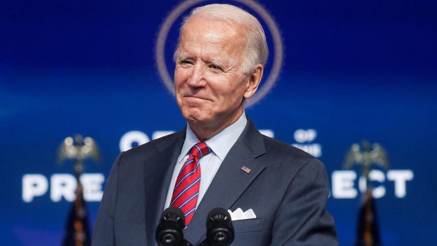 El presidente electo, Joe Biden.