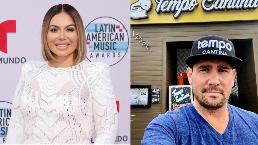 Chiquis Rivera y Mr. Tempo