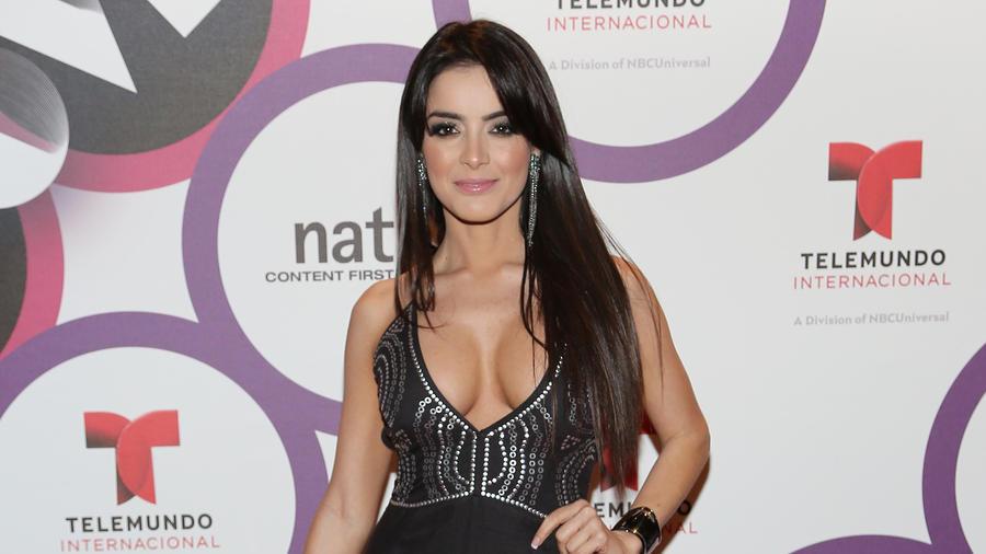 Daniela Navarro en NATPE 2015 Telemundo Internacional