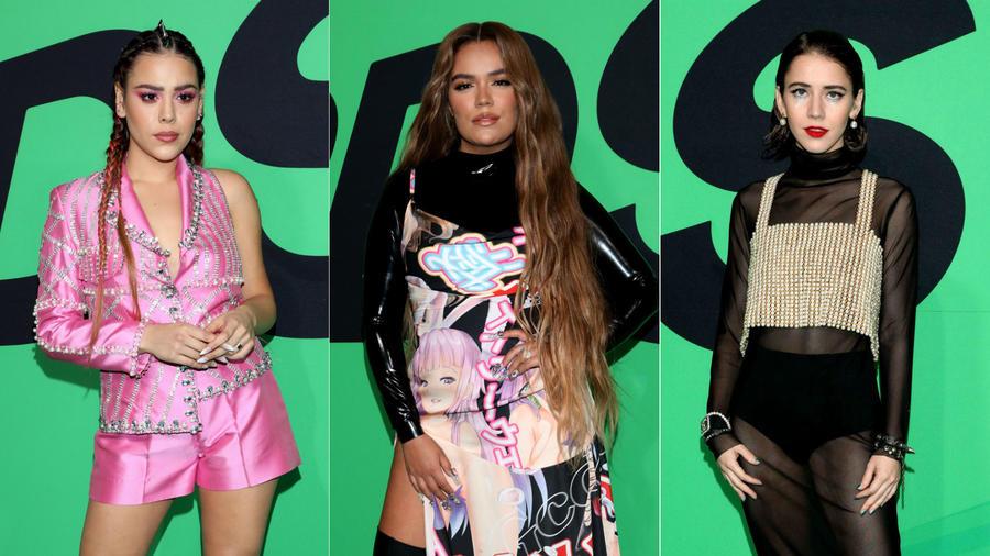 Danna Paola, Karol G, Tessa Ía en los Spotify Awards 2020