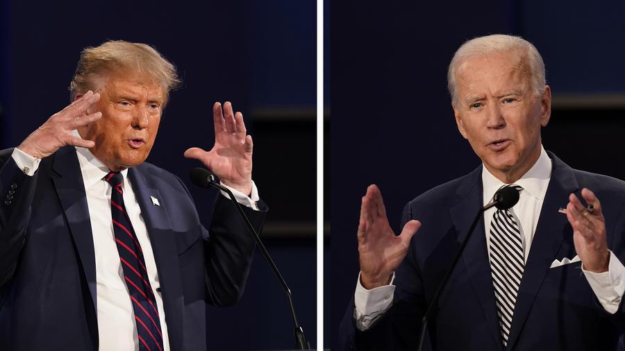 Donald Trump,Joe Biden