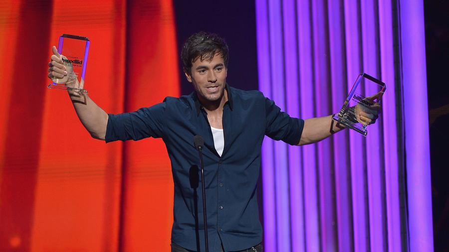 Enrique Iglesias en Premios Billbaoard