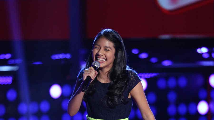 Samantha Ríos en La Voz Kids