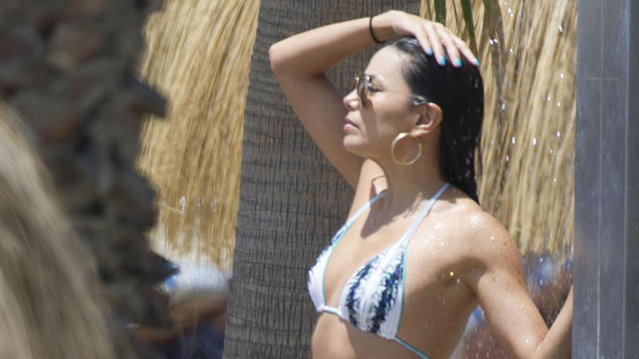 Eva Longoria en Bikini a los 40 años