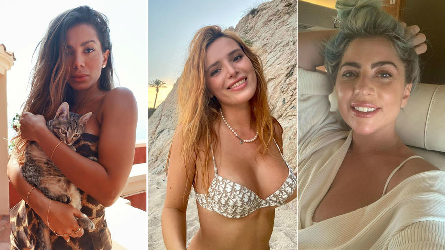 Anitta, Bella Thorne y Lady Gaga