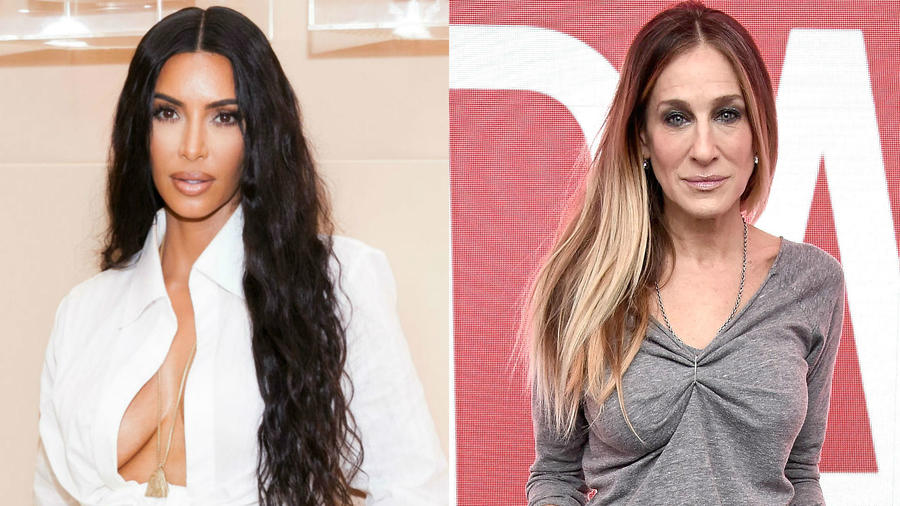 Kim Kardashian y Sara Jessica Parker