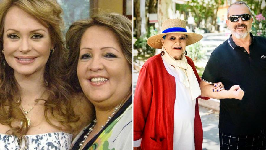 Gaby Spanic, Norma Utrera, Lucía Bosé y Miguel Bosé