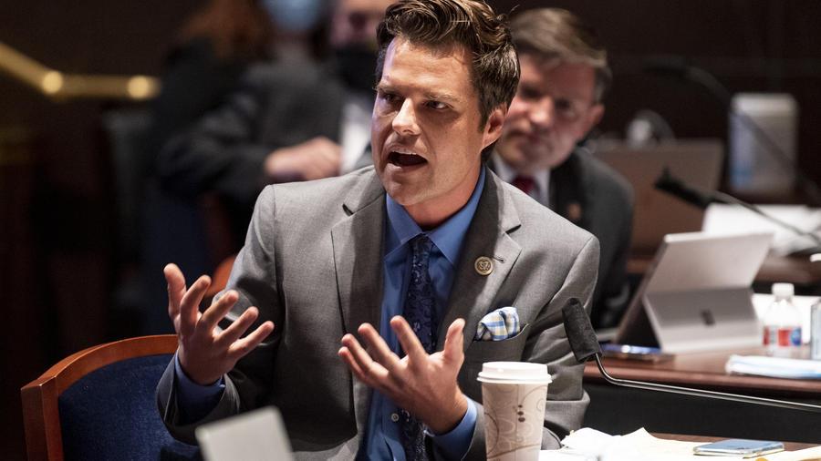 El congresista republicano por Florida Matt Gaetz.