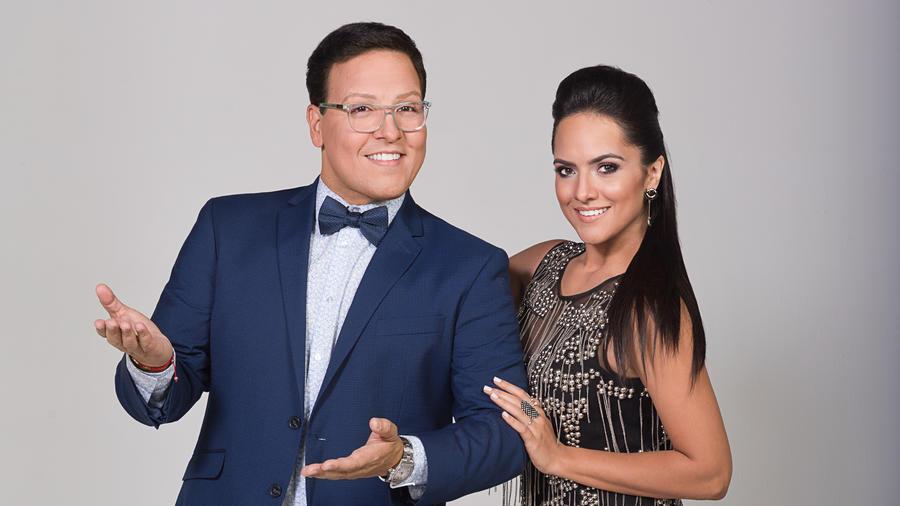 Raúl Gonzalez y Ana Lorena en foto oficial de Gran Oportunidad