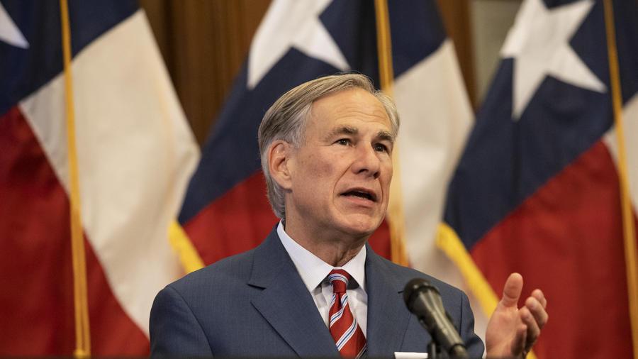 El gobernador de Texas, el republicano Greg Abbott.