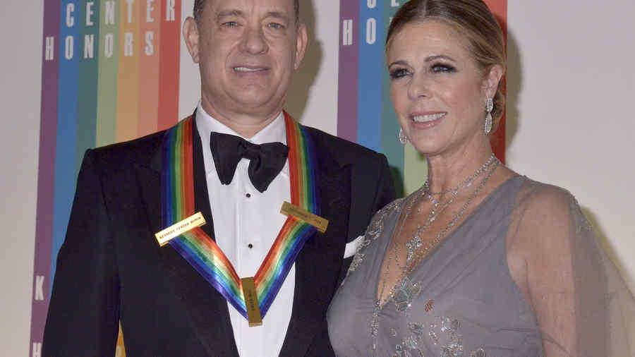 Rita Wilson y Tom Hanks en 37th Annual Kennedy Center Honors
