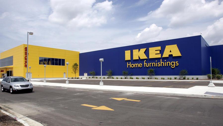 Entrada de tienda de IKEA