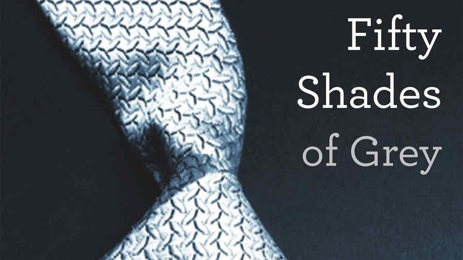 """""""Fifty Shades of Grey,"""" de E L James."""