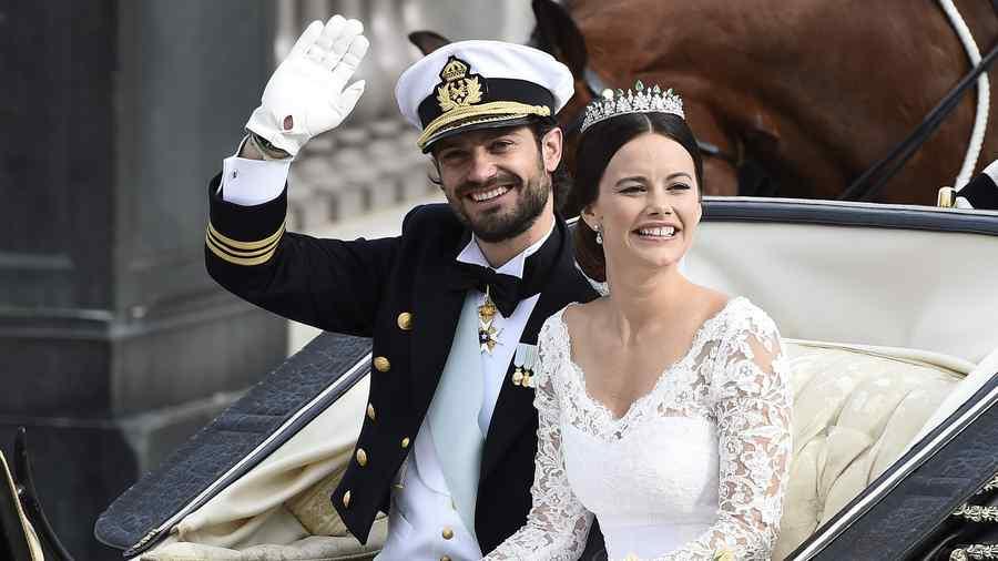 Boda de el príncipe sueco