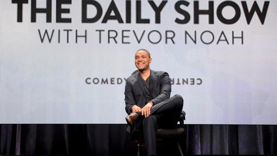 """Trevor Noah en el anuncio de """"Daily Show"""""""