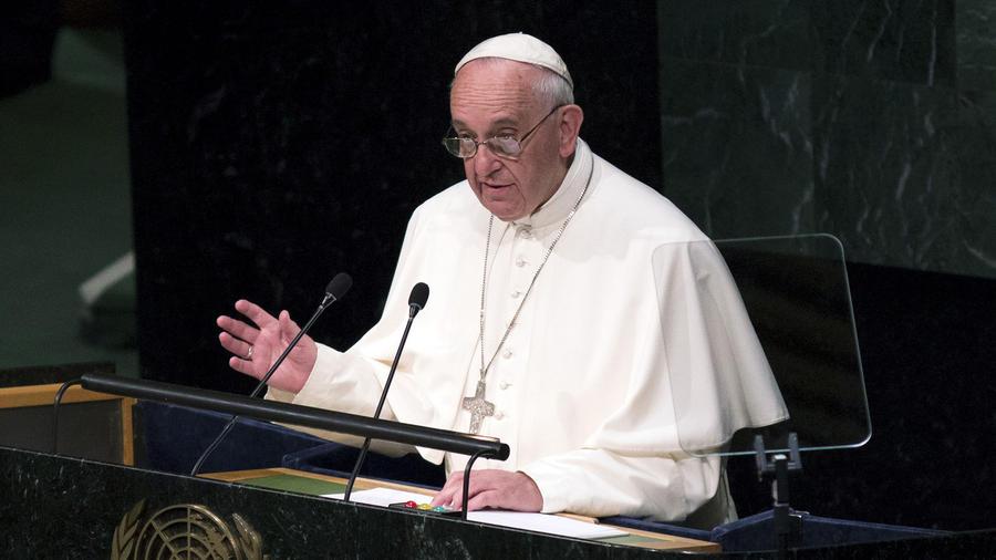 papa durante discurso en la onu