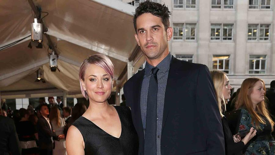 Kaley Cuoco y Ryan Sweeting en Glamour Women of the Year Awards 2015
