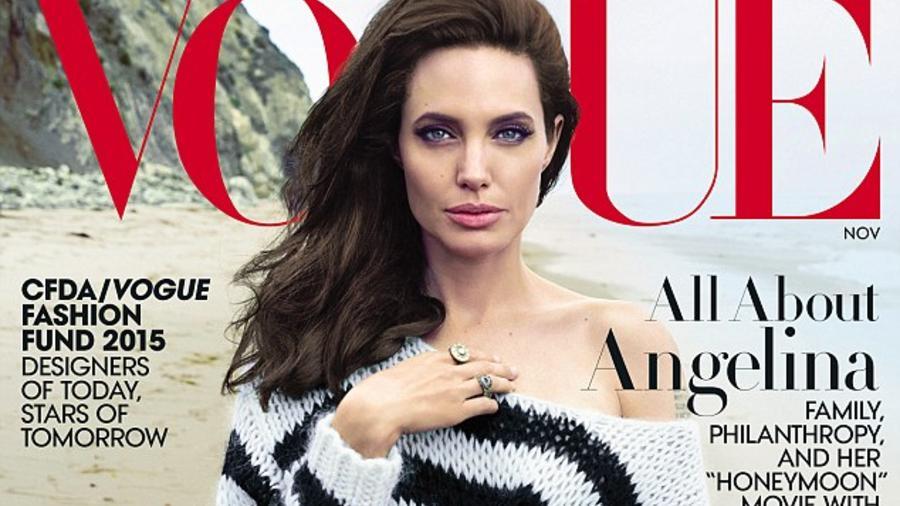 Angelina Jolie en portada de Vogue