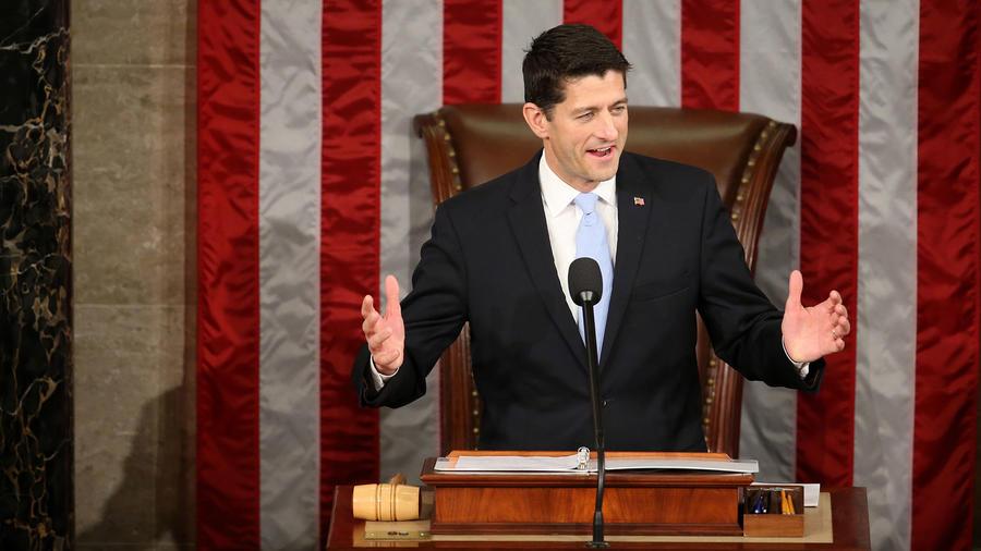 Foto de archivo: Paul Ryan, presidente de la Cámara de Representantes.