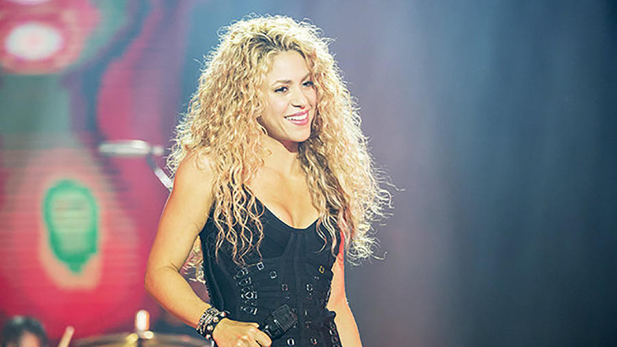 Shakira se presenta en España 2015