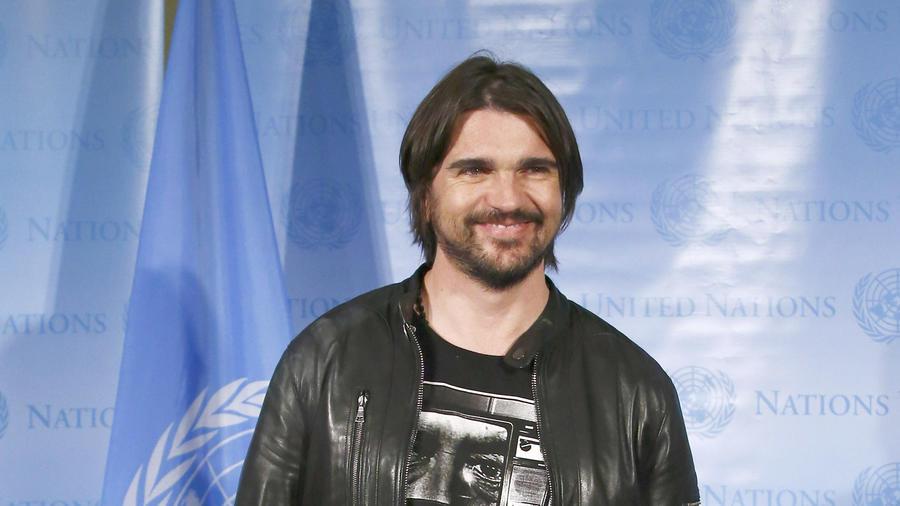 Juanes en el Dia Mundial del Humanitario 2015