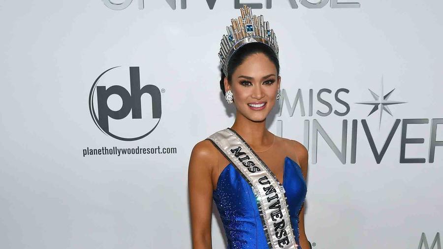 Miss Universo 2015, Pia Alonzo Wurtzbach, sin maquillaje