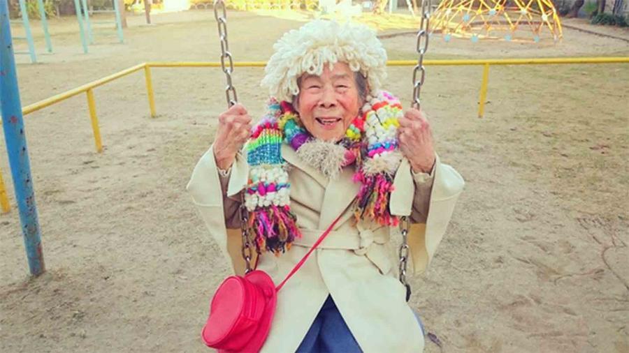 Emiko Mori, abuelita modelo