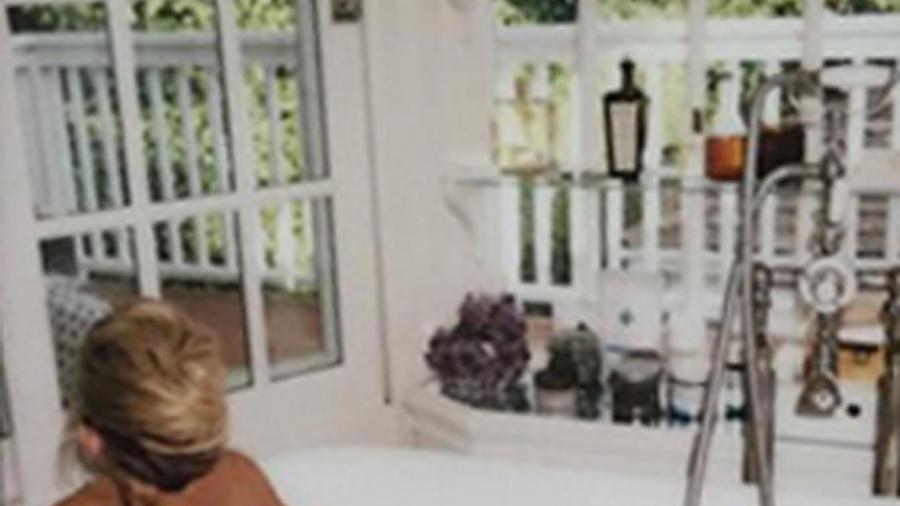 Kate Hudson en la tina, Instagram