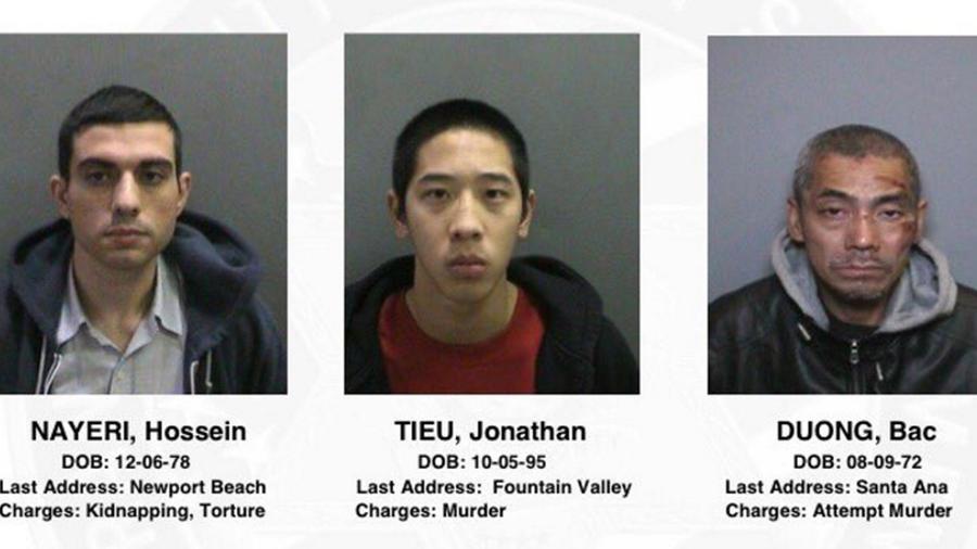 reos escapados de prision de california