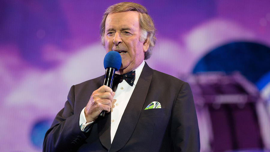 Terry Wogan en BBC Proms en Hyde Park en Londres 2015