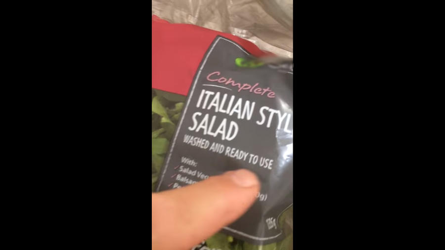 Bolsa de ensalada