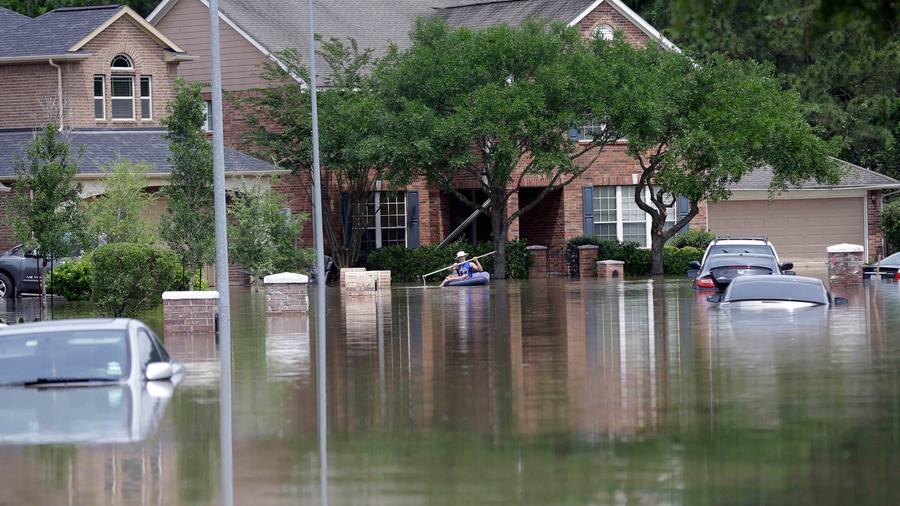 Inundaciones en Texas
