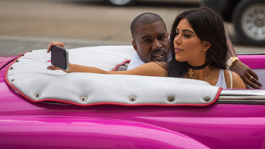 Kim Kardashian y Kanye en Cuba