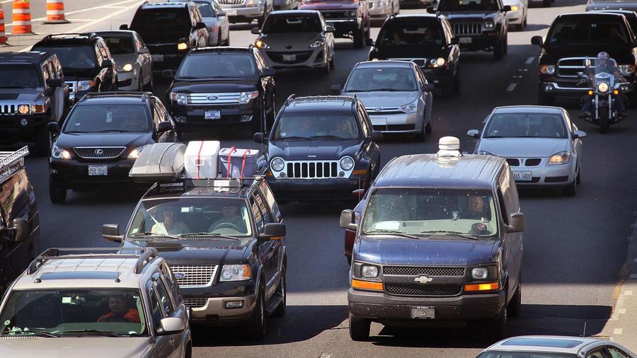 Tráfico en la carretera