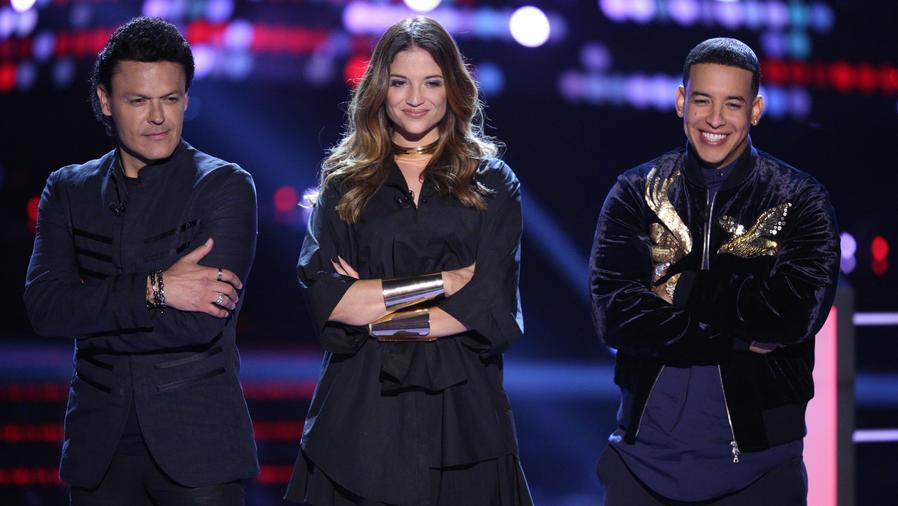 Pedro Fernández Daddy Yankee Natalia Jiménez Rondas de Batallas La Voz Kids 2016