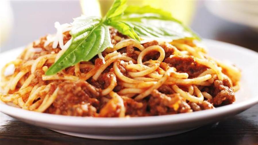 Plato de espaguetis. Foto de Shutterstock.