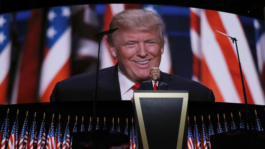 Donald Trump acepta su nominación presidencial