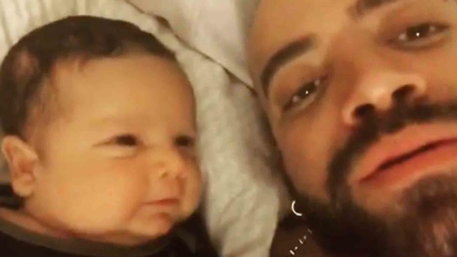 Nacho comparte un video con su bebé Matías