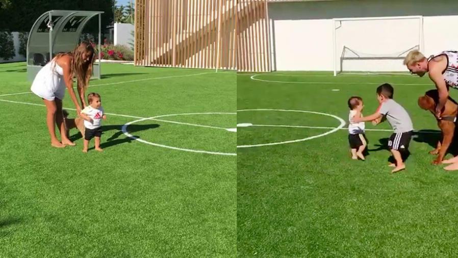 Lionel Messi y familia